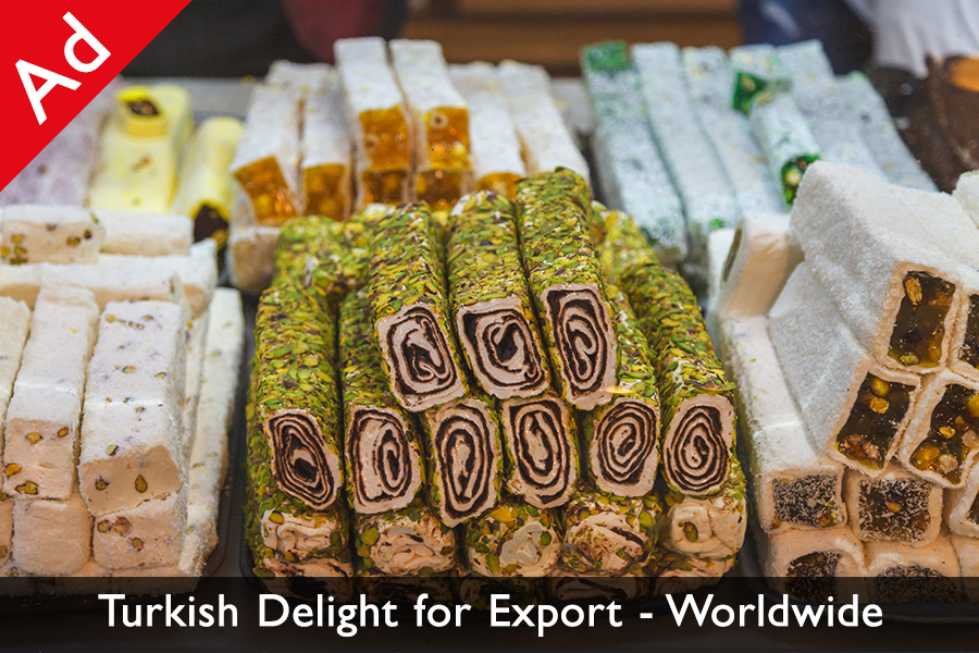 Turkish delight for export
